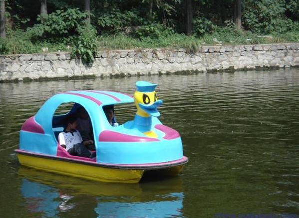 双人脚踏船