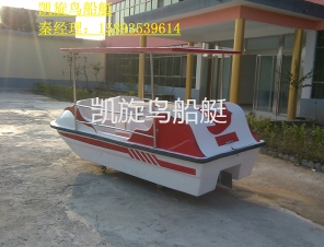 大鹏展翅电动船