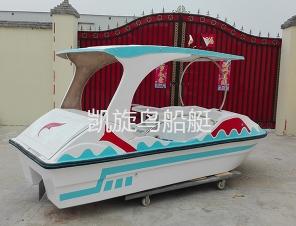 飞天海豚电动船