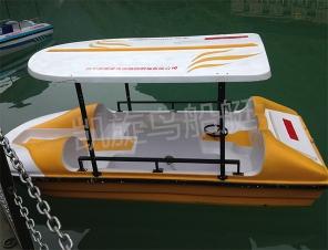 信阳玻璃钢脚踏船
