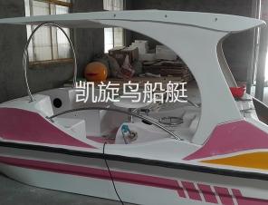 云南飞天海豚脚踏船