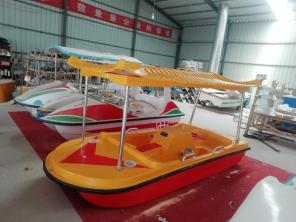 四人画舫脚踏船