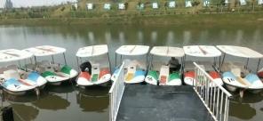 周口清风脚踏船