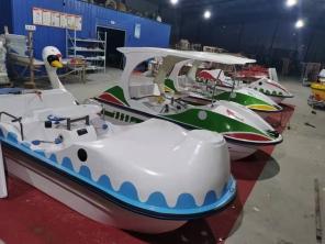 新疆脚踏船